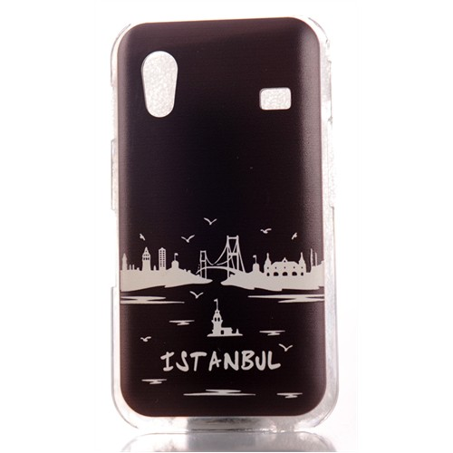 Coverzone Samsung Galaxy Ace S5830 Kılıf Resimli Arka Kapak İstanbul Boğaz Manzara