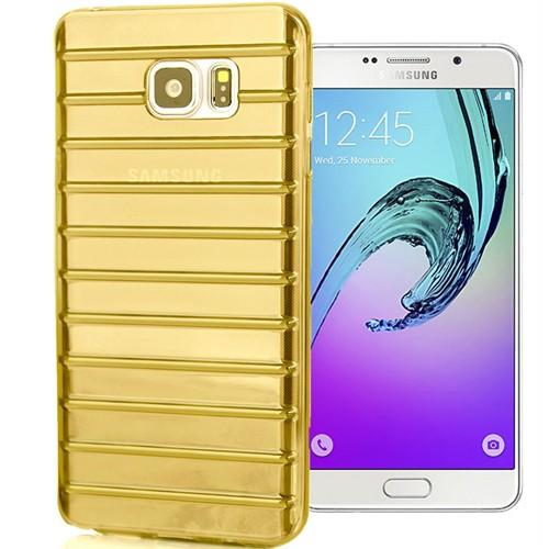 Coverzone Samsung Galaxy A5 Kılıf 2016 A510 Silikon Panjur Dizayn