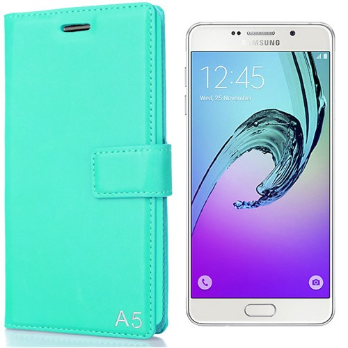 Coverzone Samsung Galaxy A5 Kılıf 2016 A510 Trend Mıknatıs Kapaklı