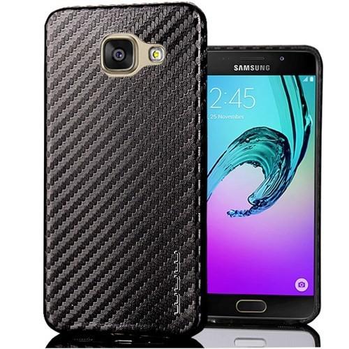 Coverzone Samsung Galaxy A3 2016 Kılıf A310 Karbon Görünüm