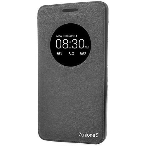 Coverzone Asus Zenfone 5 Lite Kılıf Vantuzlu Kapaklı