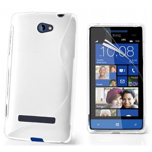 Coverzone Htc Windows Phone 8X Kılıf Silikon S-Line