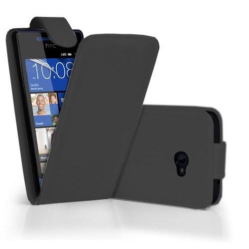 Coverzone Htc Windows Phone 8X Kılıf Dik Kapaklı Kılıf