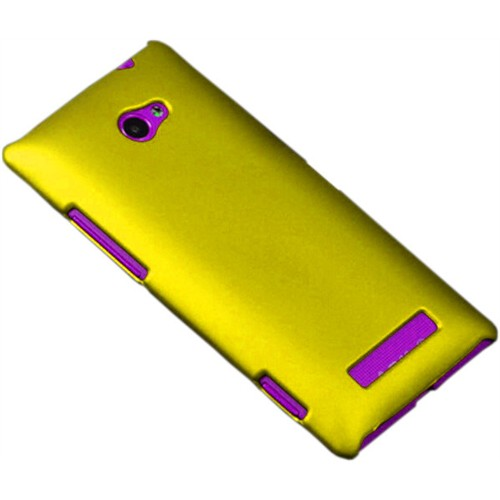 Coverzone Htc Windows Phone 8X Kılıf Rubber Sert Arka Kapak