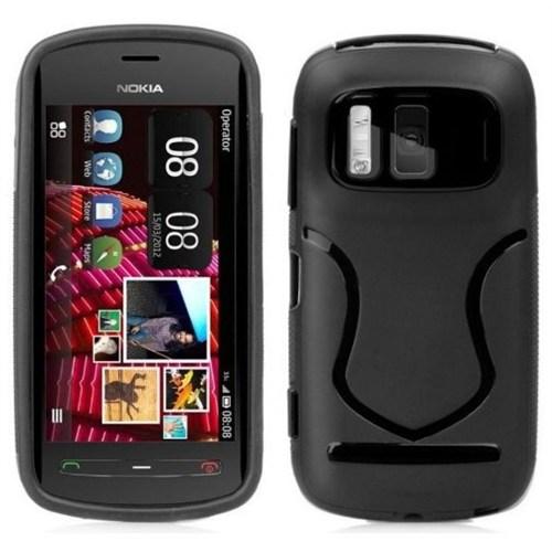 Coverzone Nokia 808 Pureview Kılıf Silikon S-Line
