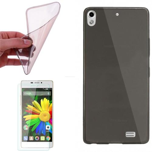 Cep Market General Mobile Discovery Air Kılıf 0.2Mm Antrasit Silikon - Kırılmaz Cam