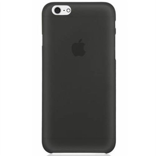 Cep Market İphone 4S Kılıf 0.2Mm Antrasit Silikon