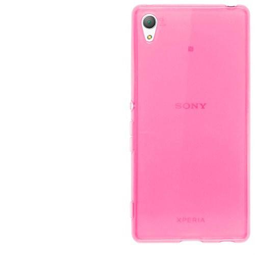 Cep Market Sony Xperia M4 Aqua Kılıf 0.2Mm Pembe Silikon