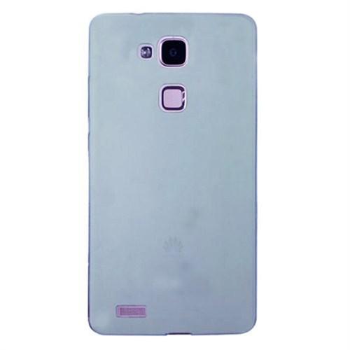 Cep Market Huawei Ascend Mate 7 Kılıf 0.2Mm Mavi Silikon