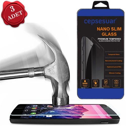 Cepsesuar Samsung Galaxy Note 4 Kırılmaz Cam Ekran Koruyucu 3 Adet