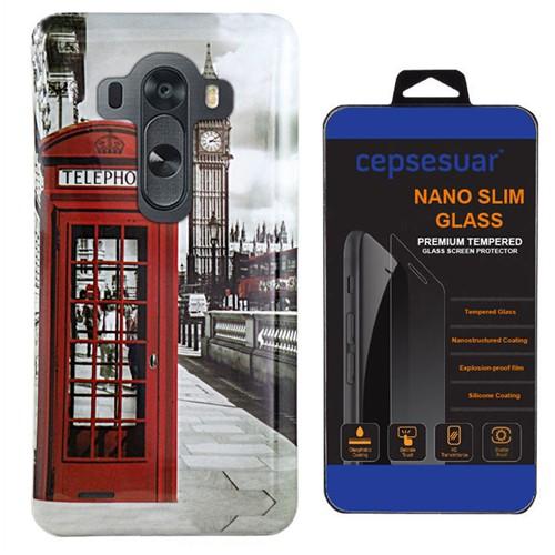 Cepsesuar Lg G3 Kılıf Silikon Resimli Telefon - Kırılmaz Cam