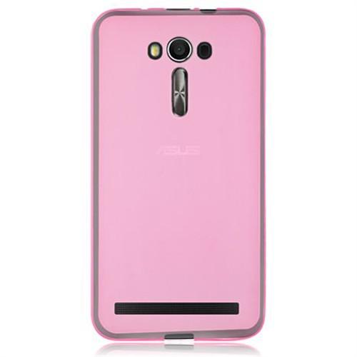 Cep Market Asus Zenfone 2 Kılıf 0.2Mm Pembe Silikon