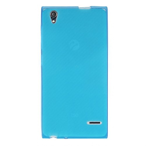 Cep Market Turkcell T50 Kılıf 0.2Mm Mavi Silikon