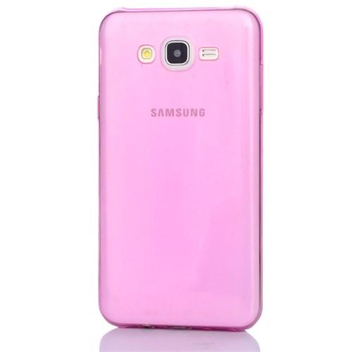 Cep Market Samsung Galaxy A3 Kılıf 0.2Mm Pembe Silikon