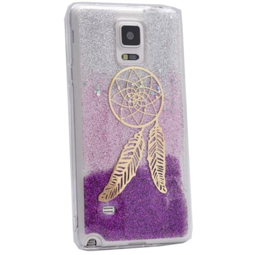 Teleplus Samsung Galaxy Note 4 Desenli Silikon Kılıf 4