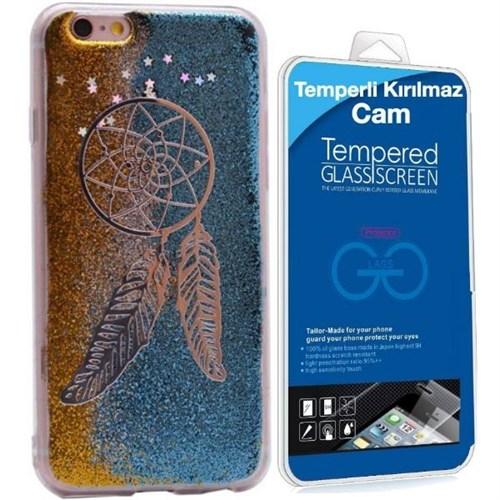 Teleplus İphone 6S Plus Yeni Desenli Silikon Kılıf 3 + Kırılmaz Cam