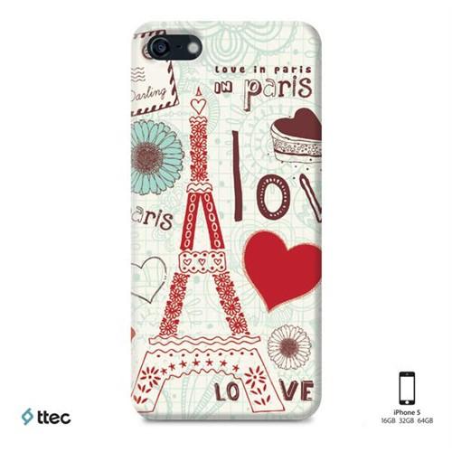 Ttec Artcase Koruma Paneli İphone 5 Love