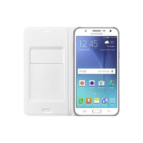 Samsung Galaxy J7 Flip Wallet Kartlıklı Kılıf