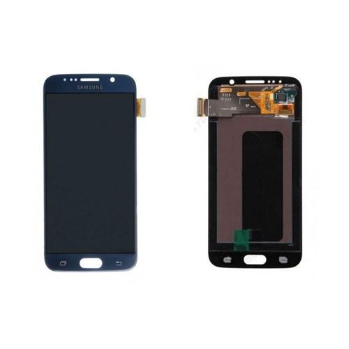 Samsung Galaxy S6 Orjinal Lcd Ekran Dokunmatik Panel Siyah
