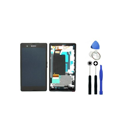 Sony Xperia Z Orjinal Dokunmatik Lcd Ekran + Sökme Aparatı
