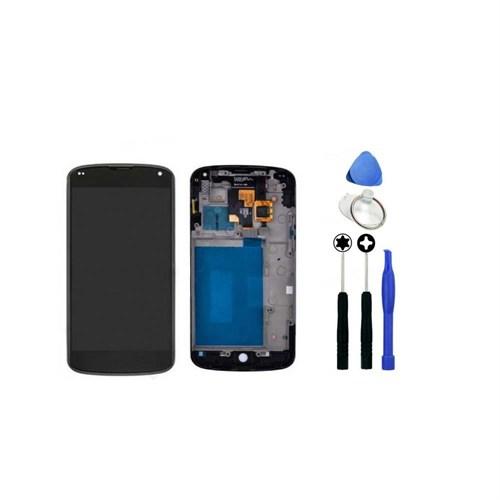 Lg Nexus 4 Orjinal Dokunmatik Lcd Ekran + Sökme Aparatı