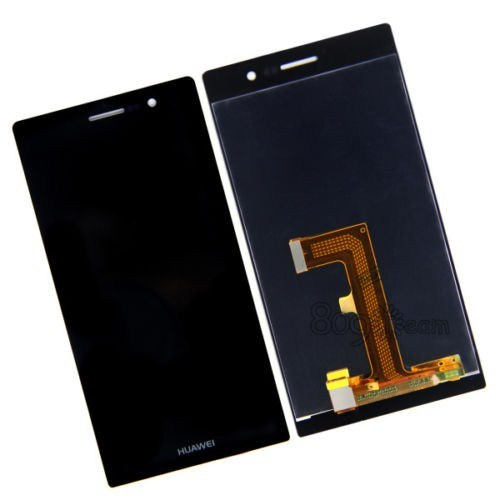 Huawei Ascend P7 Orjinal Dokunmatik Lcd Ekran Siyah