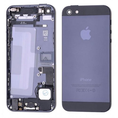 İphone 5S Full Kasa Kapak Ve Yedek Parçalı Orjinal Gri Renk