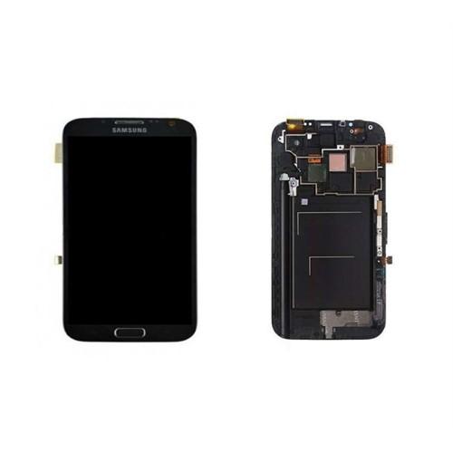 Galaxy Note 2 Dokunmatik Lcd Ekran Orjinal Siyah