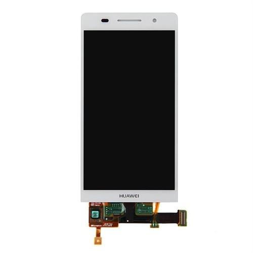 Huawei Ascend P6 Orjinal Dokunmatik Lcd Ekran Beyaz