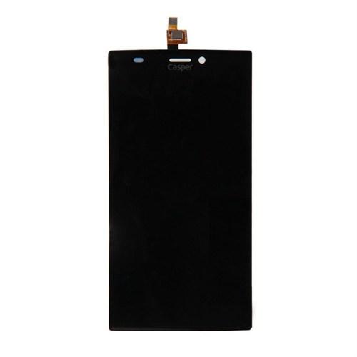 Casper Via V6 Orjinal Dokunmatik Lcd Ekran Panel Siyah