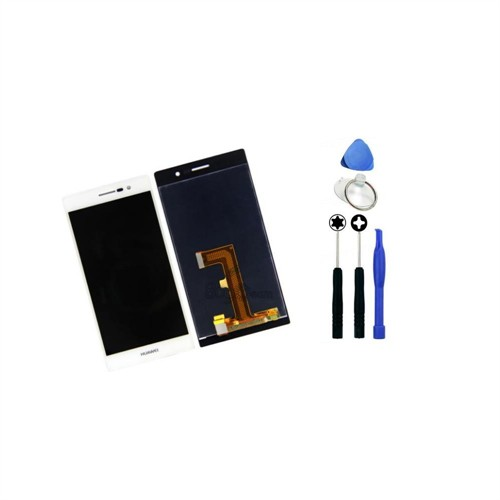 Huawei Ascend P7 Orjinal Dokunmatik Lcd Ekran Beyaz + Sökme Aparatı