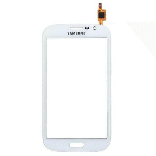 Samsung Galaxy Grand Duos İ9082 Orjinal Dokunmatik Lens Beyaz