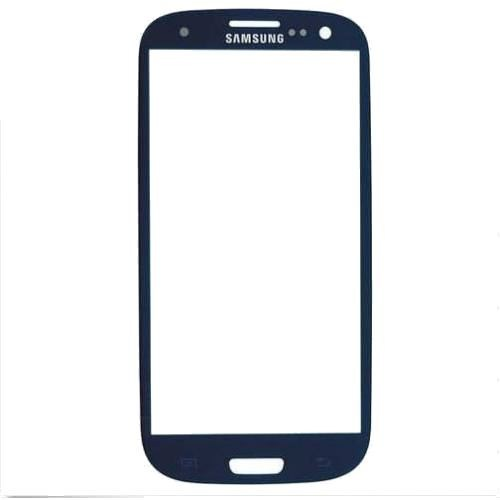 Samsung Galaxy S3 Orjinal Dokunmatik Lens Mavi