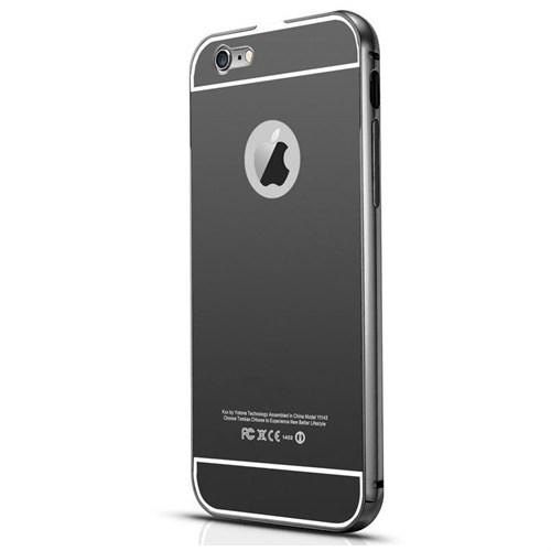 Markaavm İphone 6 Plus Kılıf İphone 6S Plus Aynalı Bumper