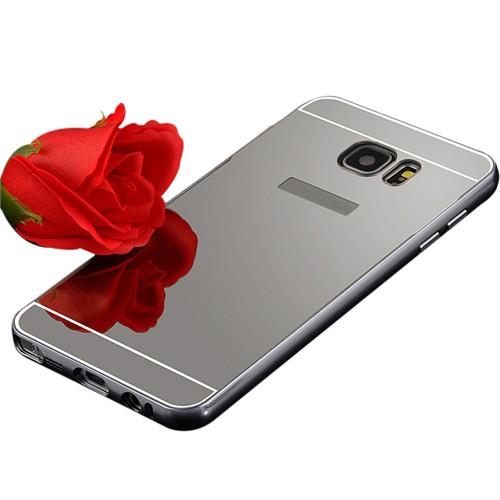 Markaavm Samsung Galaxy Note 5 Kılıf Aynalı Bumper