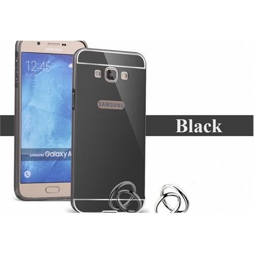 Markaavm Samsung Galaxy J5 Kılıf Aynalı Bumper