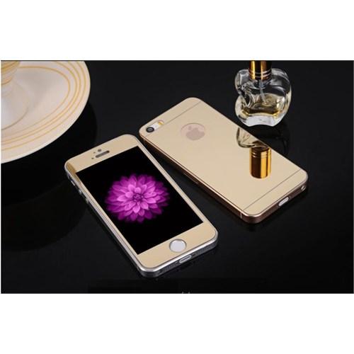 Cadlı Apple İphone 6S Plus Kırılmaz Cam Ön Arka Temperli Renkli Ekran Koruyucu Film
