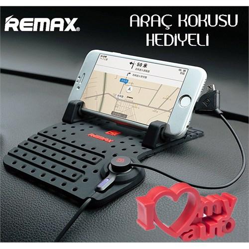 Coverzone Huawei P9 Lite Remax Şarjlı Pad Tutucu - 3D Araç Kokusu