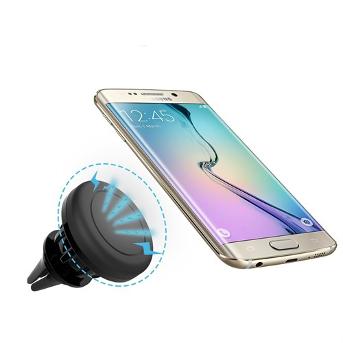 Melefoni Samsung Galaxy S6 Edge Plus Manyetik Araç İçi Telefon Tutucu