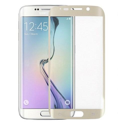 Bufalo Samsung S6 Edge Çerçeveli Ekran Koruyucu Gold