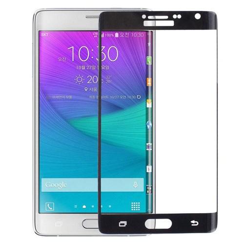 Bufalo Samsung Note Edge Çerçeveli Cam Ekran Koruyucu Siyah