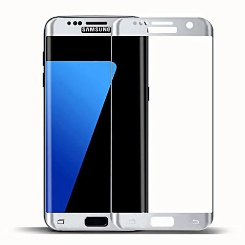 Bufalo Samsung S7 Edge Cam Ekran Koruyucu Beyaz