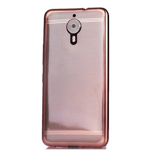 Kılıfshop General Mobile Gm5 Plus Storm Silikon Kılıf (Rose Gold)
