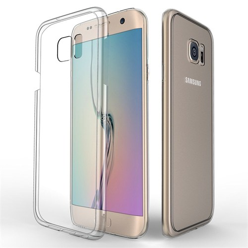 Melefoni Arte Samsung Galaxy S6 Edge Plus Kılıf Sert Sararma Yapmaz İnce Plastik