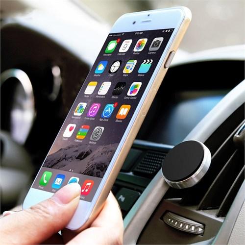 Manyetik Mıknatıslı Araç İçi Telefon Tutucu