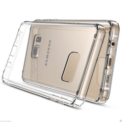 Melefoni Arte Samsung Galaxy Note 5 Kılıf Sararma Yapmaz İnce Plastik