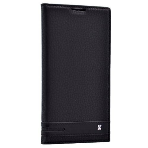 Teleplus Microsoft Lumia 550 Mıknatıslı Lux Kapaklı Kılıf Siyah