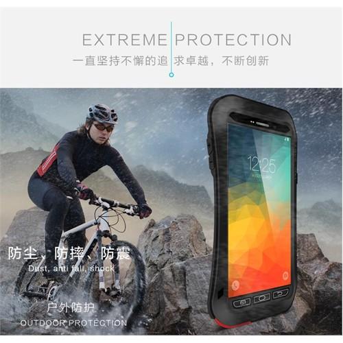 Techmaster Samsung Galaxy Note 5 Kılıf Lovemei Askeri Kılıf