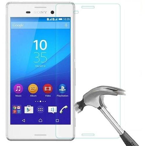 Maks Sony M4 Aqua Temperli Kırılmaz Cam Ekran Koruyucu