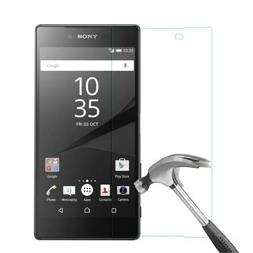 Maks Sony Xperia Z5 Premium Temperli Kırılmaz Cam Ekran Koruyucu